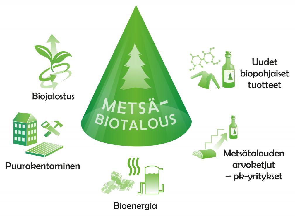 ELMO -klusteriteema: metsäbiotalous